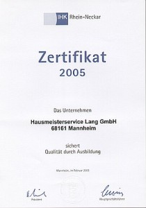 Zertifikat Bürokauffrau Mannheim, Heidelberg Ludwigshafen